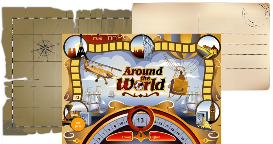 Travel around the world with Playtech slots