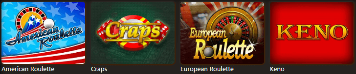 Available Casino Max specialty games