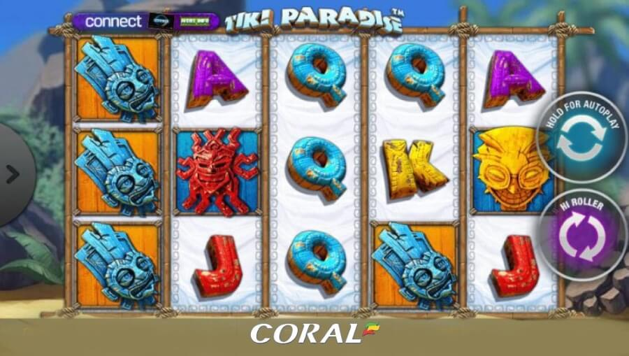 Tiki Paradise online casino slot game